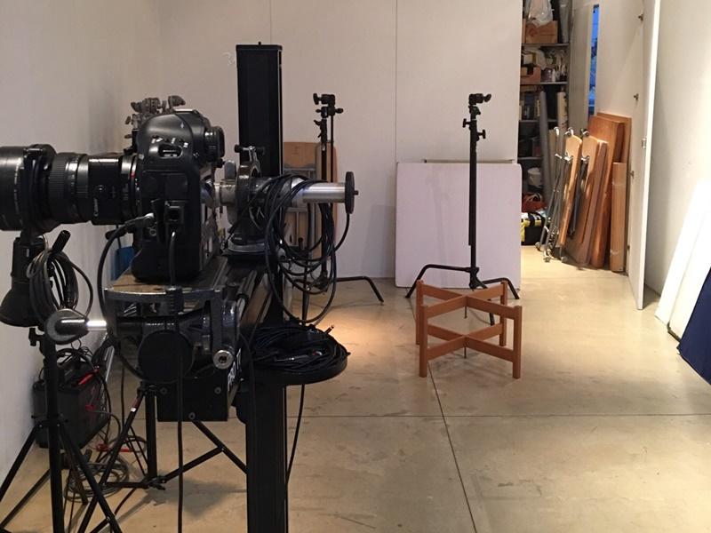 スタジオで撮影!