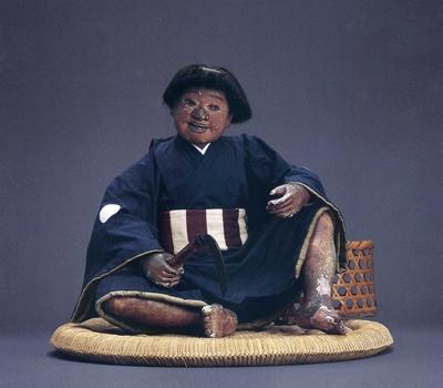 初代 庄五郎作 「草刈童子」