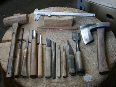 木彫に使う道具