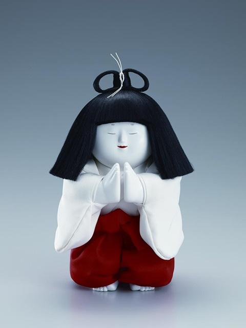 十二世久重作 木彫御所人形「祈り」