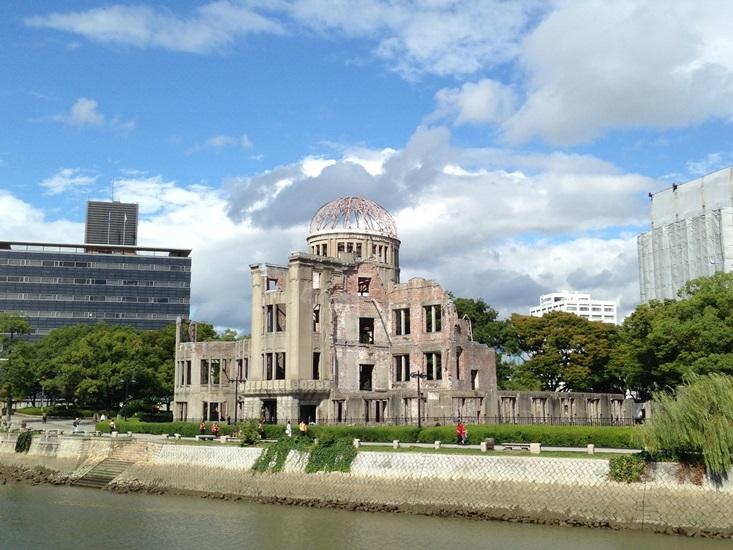30年ぶりの原爆ドーム