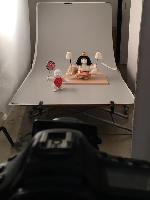スタジオで写真撮影!