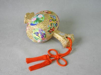 高盛金彩絵 華の小槌